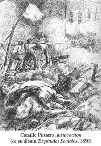 Camille-Pissarro,-Insurrection-(de-su-album-Turpitudes-Sociales,-1890