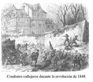 Combates-callejeros-durante-la-revolucion-de-1848