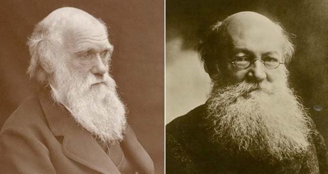 Charles-Darwin-Piotr-Kropotkin-Evolucion-Competencia-Apoyo-Mutuo-Anarquismo-Acracia