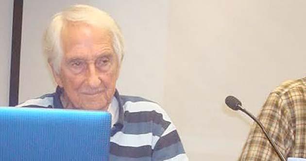 El activista Octavio Alberola participa en las XVIII Jornadas Libertarias de CGT-València