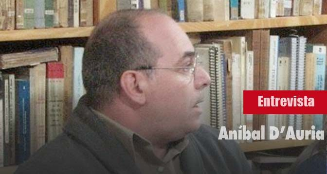 Entrevista a Aníbal D'Auria