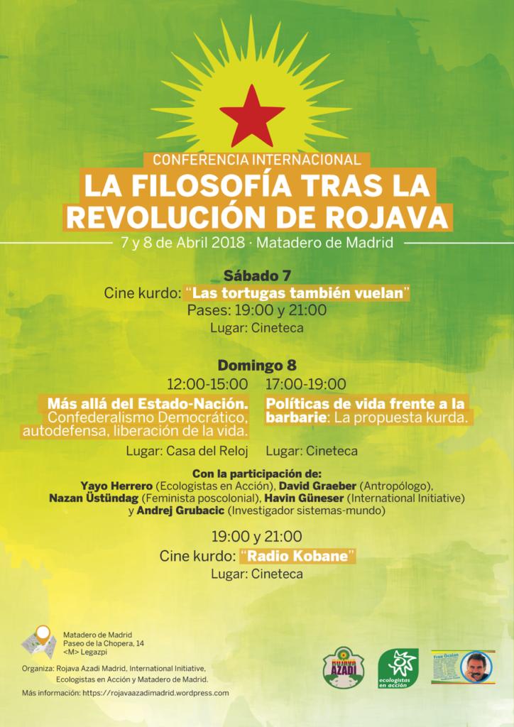 Conferencia Revolución Rojava