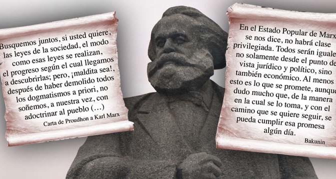 Marx-Anarquismo-Bakunin-Proudhon-Acracia