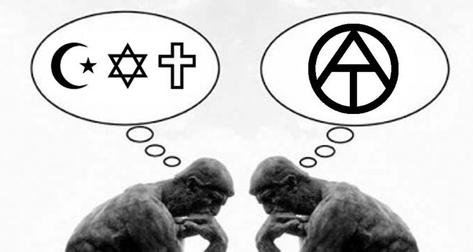 Religion-Monoteismo-Fanatismo-Ateismo-Anarquismo-Acracia