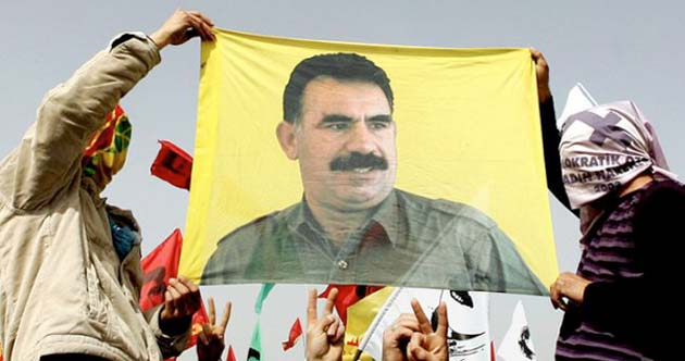 Imagen Abdullah Ocalan en Rojava