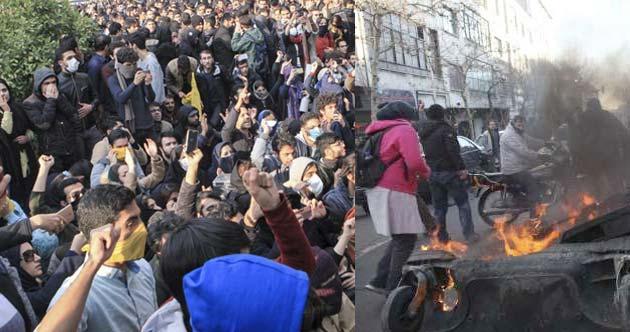 Irán Revueltas Represión
