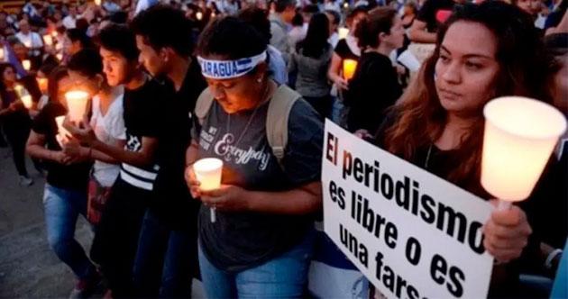 NICARAGUA PERIODISMO REPRESIÓN